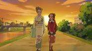DDPC43 - Mari and Aguri walk home together