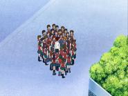 Grupo alrededor nagisa hasekura