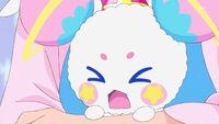 STPC19 Fuwa cries in fear