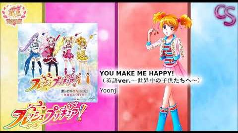 YOU MAKE ME HAPPY!(英語ver ~世界中の子供たちへ~)