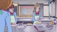 Kanade cocinando