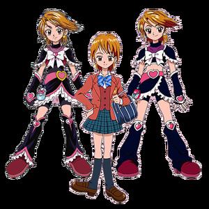 Nagisa y Cure Black