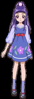 Perfil de Riko Izayoi con su atuendo casual (TV Asahi)