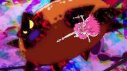 Grace pelea contra el Megabyougen