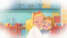 STPC39 Elena hugging Touma