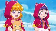 22. Mirai y Riko muriendo de frio