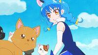 STPC35 Yuni notices Hikaru and Lala
