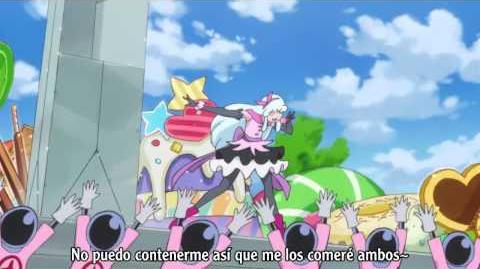 Happiness Charge Precure cap 10 sub español