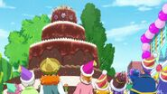 Lilia hace un pastel con las Linkle Stone