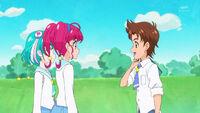 STPC35 Hikaru and Lala speak to Tatsunori