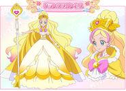 Flora gran princesa perfil
