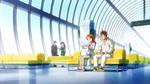 KKPCALM31-Satomi Genichirou at airport