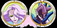 Yes! Pretty Cure 5 Arachnea faces