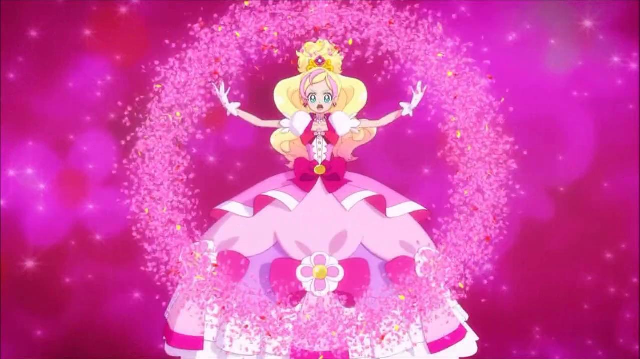 ¡Torbellino Floral Pretty Cure!