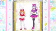 Emiru y Ruru vestidas de Bailarinas Pop