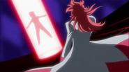 Kumojaki tomando la Flor Corazón de Ban