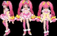 Perfiles de Cure Star (TV Asahi)