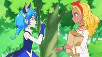 STPC23 Elena gives Yuni a bread crust