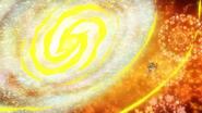 Circulo transformado en una galaxia