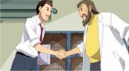 Keitarou working with Tadashi