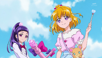 Mirai and Riko appear