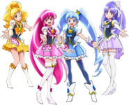 Perfil de Happiness Charge Pretty Cure