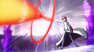Phantom lanzando su ataque final para vencer a Fortune