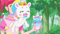 STPC33 Unicorn Fuwa able to eat by her own