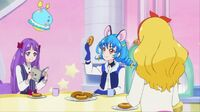 STPC45 Madoka, Yuni and Elena minding their own business