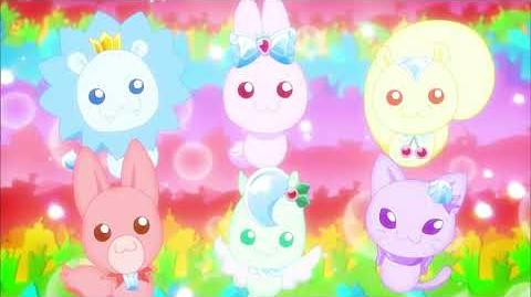 Kirakira Pretty Cure Group Attack Precure Animal Go Round-0