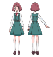 Nodoka School Uniform profile Asahi