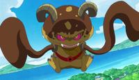 Spongen's monster form