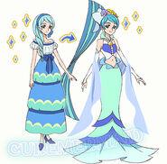 Yura mermaid perfil toei