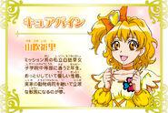Cartel de Cure Pine en Pretty Cure All Stars New Stage 3