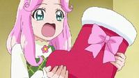 Hanami got a present