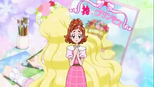Haruka and her beloved flower Princess