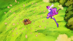 KKPCALM05 Macaron slashes through Maquillon's attack