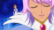 Kanata hablando con Haruka