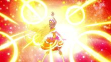 STPC-Color Charge! Cure Soleil Pose