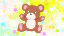 STPC10 Hikaru imagines a planet shaped liked a bear after hearing Courmarin