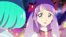STPC29 Madoka asks if Lala is worried about telling her family that she's a Cure