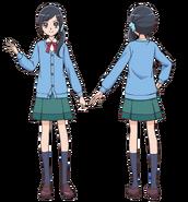 Chiyu School Uniform profile Asahi