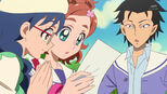 Kurosu telling Yui about this poster
