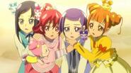 Rikka, Mana, Makoto, Alice, Ai