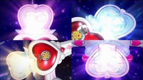 ¡Fuerte Flecha Encantadora Pretty Cure!