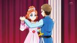 Haruka and Kenta on stage