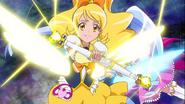Honey usando el Sparkling Baton Attack