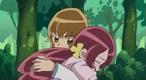 Itsuki caught Tsubomi