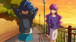 KKPCALM08 Yukari talking to Aoi