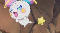 STPC19 Fuwa flies out of Hikaru's arms